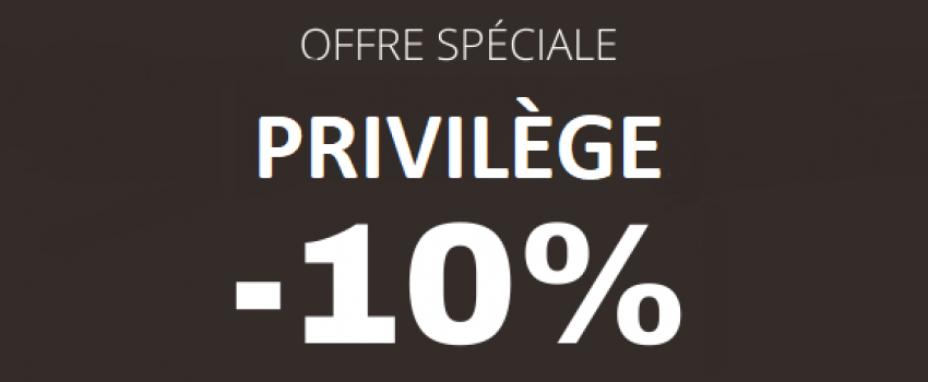 Offre Privilège